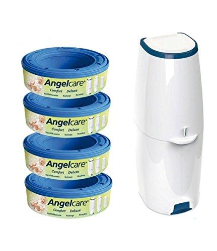 Angelcare Windeleimer Comfort+4er Nachfüllpack - 1