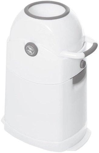 Geruchsdichter Windeleimer Diaper Champ regular silber - für normale Müllbeutel - 1