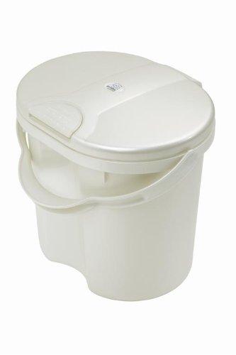 Rotho Babydesign 20002 0100 - Top Windeleimer, perlweiß crème - 1